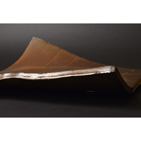 古瀬戸釉異形皿