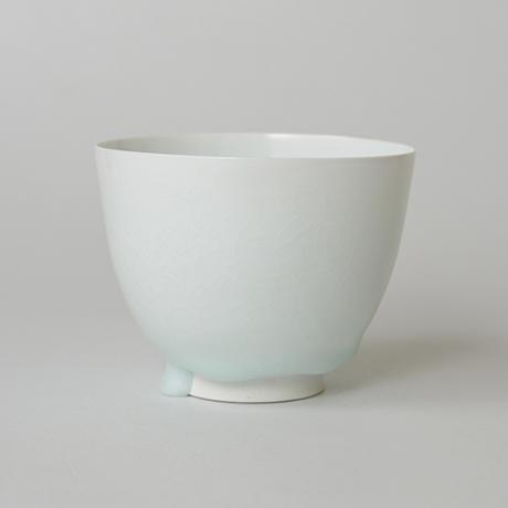 「No.5 塚本快示 白瓷碗 / TSUKAMOTO Kaiji Tea bowl, White porcelain」の写真 その2