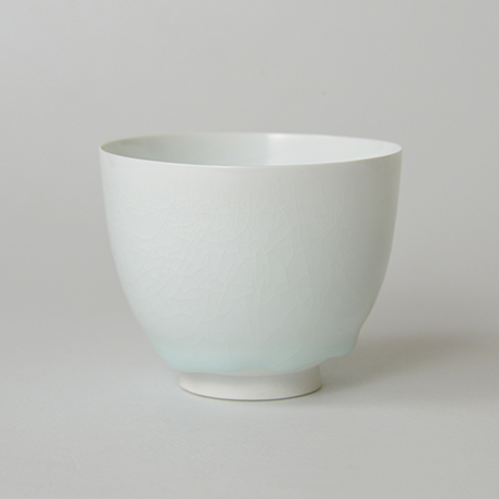 「No.5 塚本快示 白瓷碗 / TSUKAMOTO Kaiji Tea bowl, White porcelain」の写真 その3