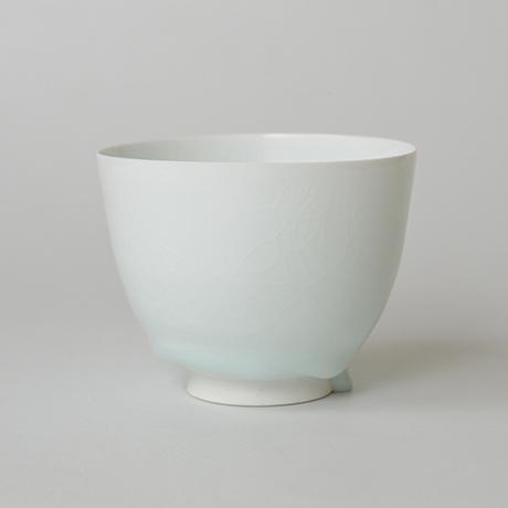 「No.5 塚本快示 白瓷碗 / TSUKAMOTO Kaiji Tea bowl, White porcelain」の写真 その4