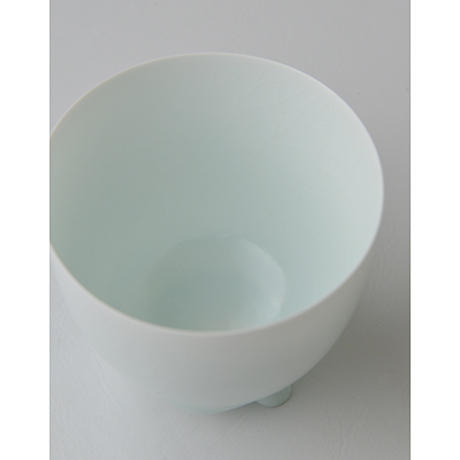 「No.5 塚本快示 白瓷碗 / TSUKAMOTO Kaiji Tea bowl, White porcelain」の写真 その5