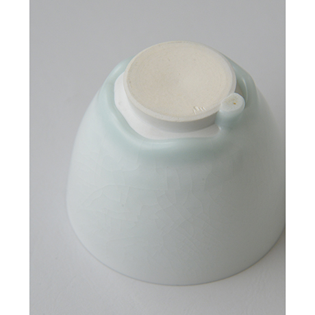 「No.5 塚本快示 白瓷碗 / TSUKAMOTO Kaiji Tea bowl, White porcelain」の写真 その6