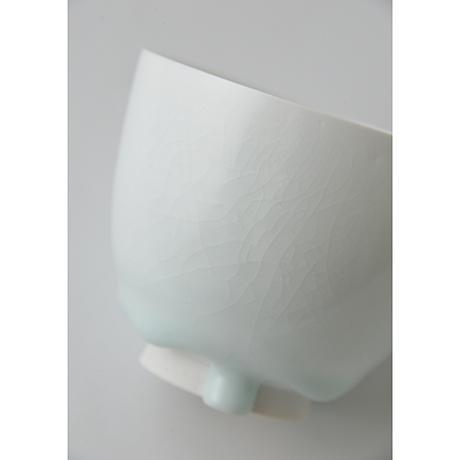 「No.5 塚本快示 白瓷碗 / TSUKAMOTO Kaiji Tea bowl, White porcelain」の写真 その7