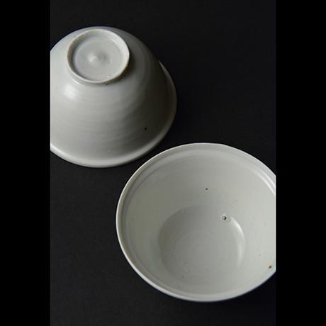 「No.12-1 白磁碗 六 / A set of 6 bowls, White porcelain」の写真 その3