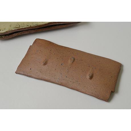 「No.167 朝鮮唐津長方皿揃 A set of 5 rectangular plates, Chosen-karatsu」の写真 その4