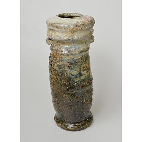 「図3 (No.2) 朝鮮唐津耳付花入 / Eared vase, Chosen-karatsu」の写真 その2