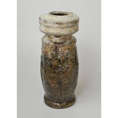 「図3 (No.2) 朝鮮唐津耳付花入 / Eared vase, Chosen-karatsu」の写真 その5
