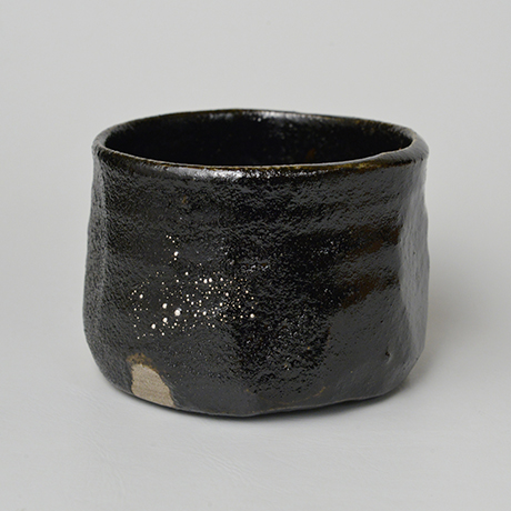 「No.25 瀬戸黒茶碗 / Tea bowl, Setoguro」の写真 その1