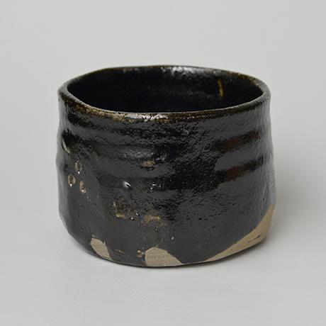 「No.25 瀬戸黒茶碗 / Tea bowl, Setoguro」の写真 その3