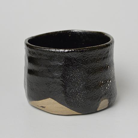 「No.25 瀬戸黒茶碗 / Tea bowl, Setoguro」の写真 その4