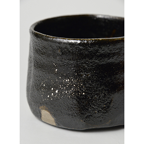 「No.25 瀬戸黒茶碗 / Tea bowl, Setoguro」の写真 その7