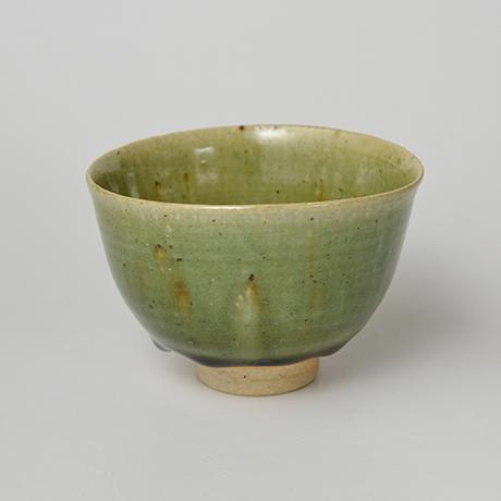 「No.28 織部小服茶碗 / Small tea bowl, Oribe」の写真 その1
