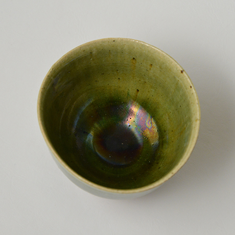 「No.28 織部小服茶碗 / Small tea bowl, Oribe」の写真 その5