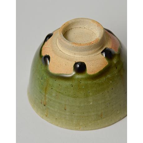 「No.28 織部小服茶碗 / Small tea bowl, Oribe」の写真 その6