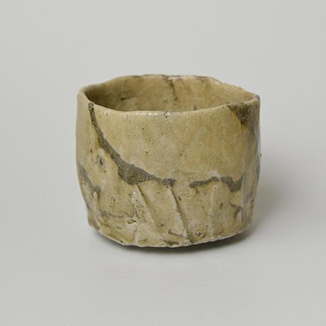 「No.4 黄瀬戸茶碗 / Tea bowl, Oribe-kuro」の写真 その4