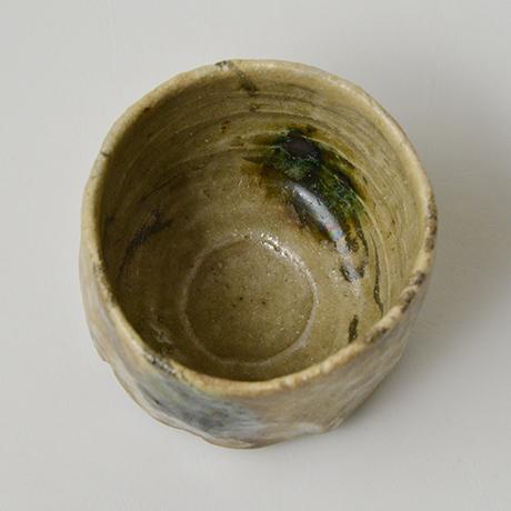 「No.4 黄瀬戸茶碗 / Tea bowl, Oribe-kuro」の写真 その5