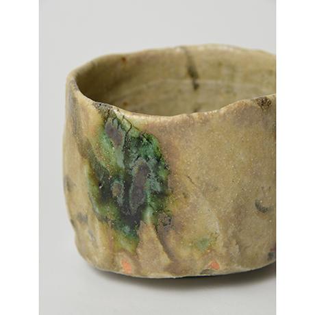 「No.4 黄瀬戸茶碗 / Tea bowl, Oribe-kuro」の写真 その7