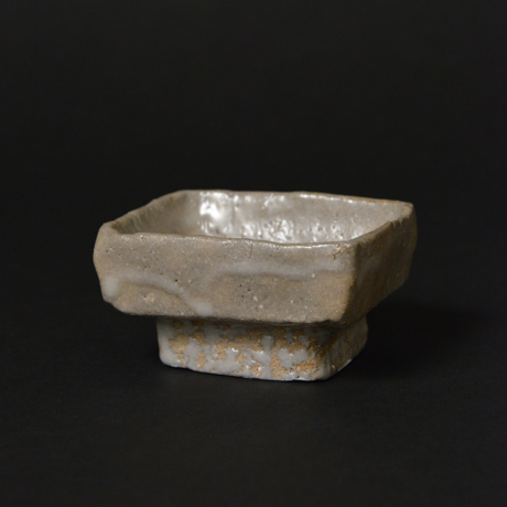 「No.45-1 井戸手祭器酒呑み / Sake cup, Ido style」の写真 その1