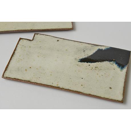 「図46 (No.53) 朝鮮唐津羅漢皿揃 A set of 5 plates, Chosen-karatsu」の写真 その2