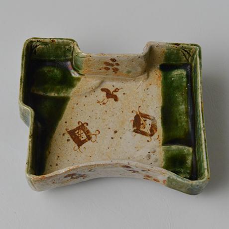 「No.71-12 織部平向付 / Dish, Oribe」の写真 その1
