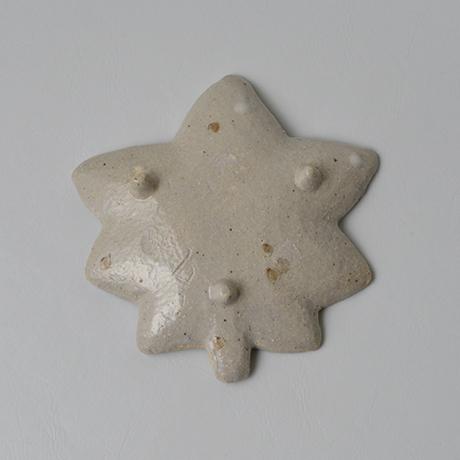 「No.80-2 絵織部紅葉皿 / Dish, E-oribe, Maple leaf motif」の写真 その2