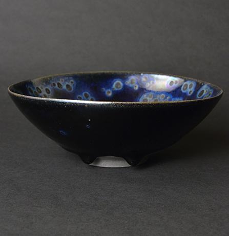 「No.10 曜変天目 / Tea bowl, Yohen Tenmoku」の写真 その1