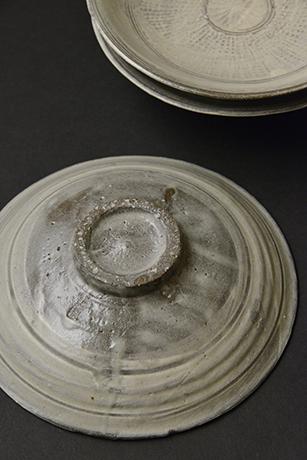 「No.100 三島皿揃 五 / A set of 5 plates, Mishima」の写真 その3