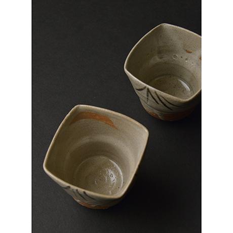 「No.106 絵唐津向付揃 五 / A set of 5 bowls, E-karatsu」の写真 その2