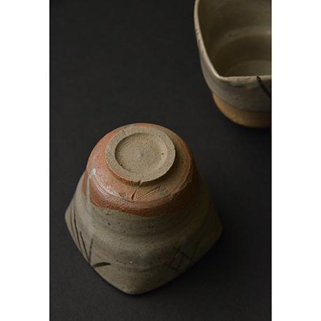 「No.106 絵唐津向付揃 五 / A set of 5 bowls, E-karatsu」の写真 その3