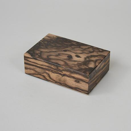 「No.11 黒柿孔雀杢名刺入れ / Card case, Black persimmon」の写真 その1