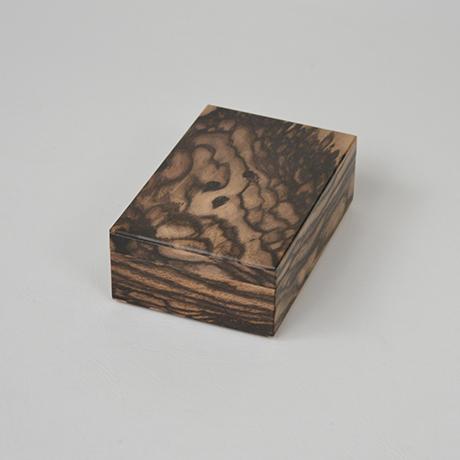 「No.11 黒柿孔雀杢名刺入れ / Card case, Black persimmon」の写真 その2
