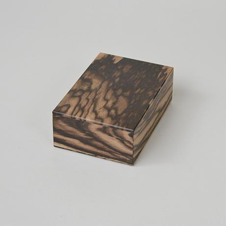 「No.12 黒柿孔雀杢名刺入れ / Card case, Black persimmon」の写真 その2