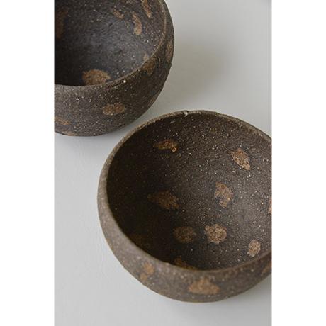 「No.12 加守田章二 炻碗 五客 / KAMODA Shoji A set of 5 bowls, Unglazed Stoneware」の写真 その2