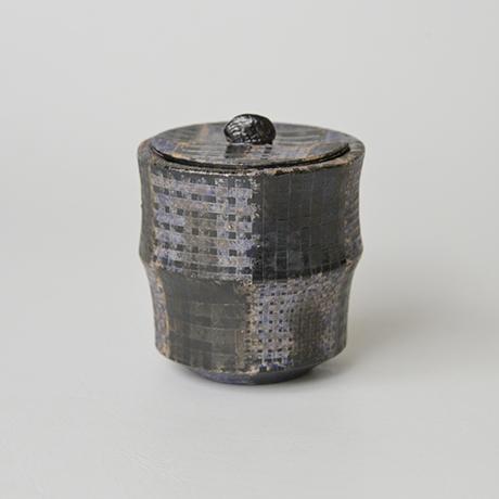 「No.18 前田正博 色絵茶器 / MAEDA Masahiro Tea caddy, Iro-e」の写真 その1