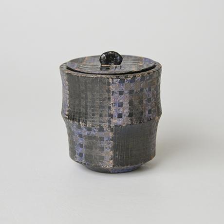 「No.18 前田正博 色絵茶器 / MAEDA Masahiro Tea caddy, Iro-e」の写真 その2