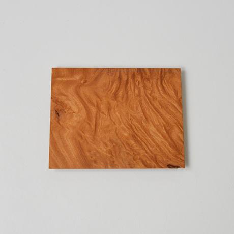「No.19 欅文欟木銘々皿 / Plate, Zelkova」の写真 その1