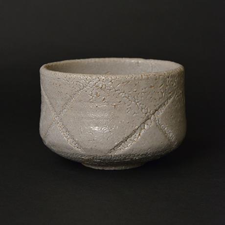 「No.2 彫唐津茶碗 / Tea bowl, Hori-karatsu」の写真 その1