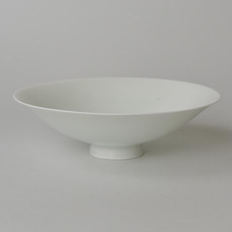 「No.21 塚本快示 白瓷平茶垸 / TSUKAMOTO Kaiji Tea bowl, White porcelain」の写真 その2