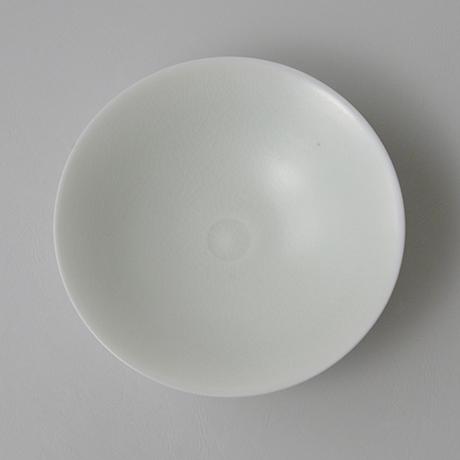 「No.21 塚本快示 白瓷平茶垸 / TSUKAMOTO Kaiji Tea bowl, White porcelain」の写真 その4