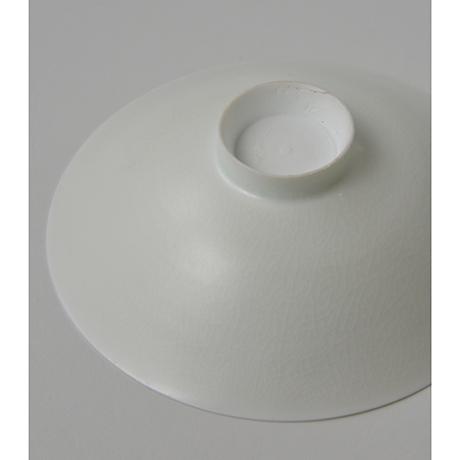 「No.21 塚本快示 白瓷平茶垸 / TSUKAMOTO Kaiji Tea bowl, White porcelain」の写真 その5