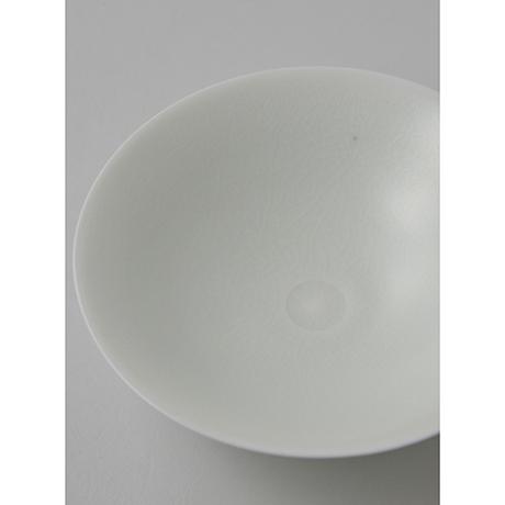 「No.21 塚本快示 白瓷平茶垸 / TSUKAMOTO Kaiji Tea bowl, White porcelain」の写真 その6