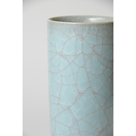 「No.23 伊藤秀人 青瓷花入 / ITO Hidehito Vase, Celadon」の写真 その5
