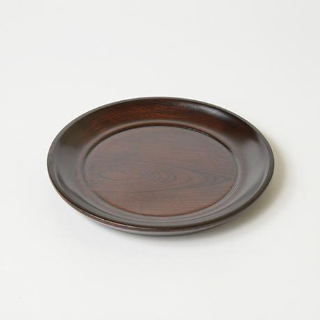 「No.24 本欅拭漆小盆 / Lacquer tray, Zelkova」の写真 その2