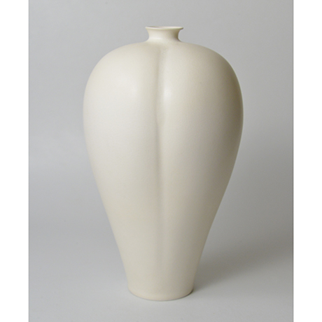 「No.24 伊藤秀人 白瓷梅瓶 / ITO Hidehito Meiping(Vase), White porcelain」の写真 その2