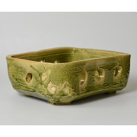 「No.25 金重巖 織部菓子器 / KANESHIGE Iwao Bowl, Oribe」の写真 その2