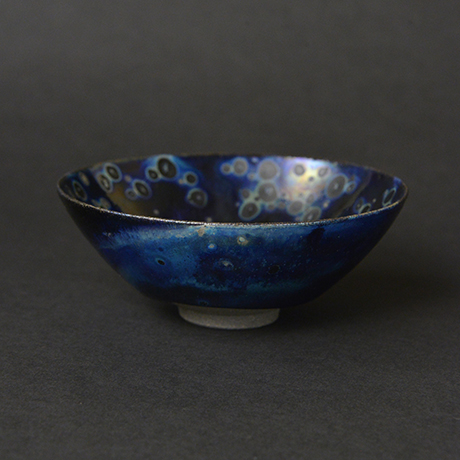「No.27 曜変盃 / Sake cup, Yohen Tenmoku」の写真 その1