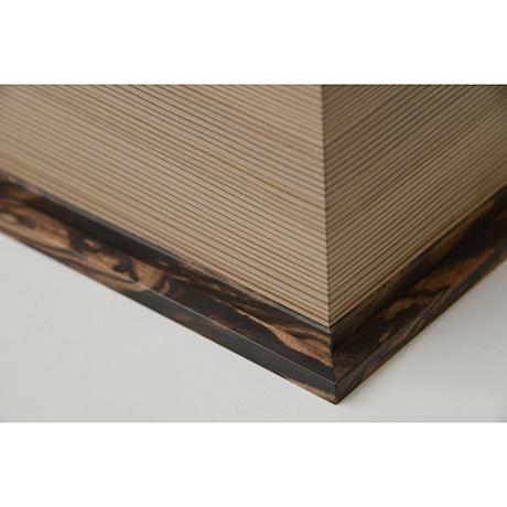 「No.28 神代杉象嵌箱「行雲」 / Ornamental box, Japanese cedar, Maple, Black persimmon」の写真 その7