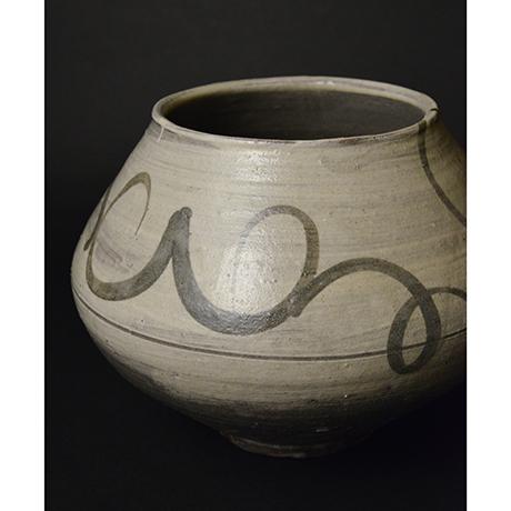 「No.3(DM) 絵刷毛目水指 / Water jar, E-hakeme」の写真 その4