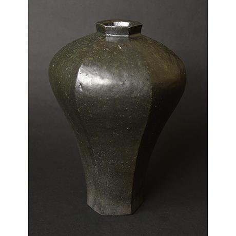 「No.4 黒釉花生 / Vase, Black glazed」の写真 その2