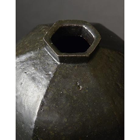 「No.4 黒釉花生 / Vase, Black glazed」の写真 その3